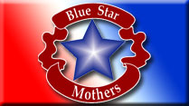 Blue Star Mothers Flag