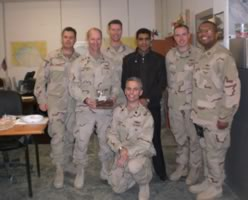 Navy Team in Iraq, January 2012